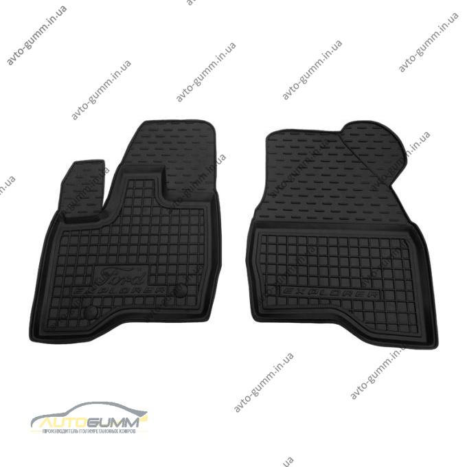 Передние коврики в автомобиль Ford Explorer 2010- (Avto-Gumm)
