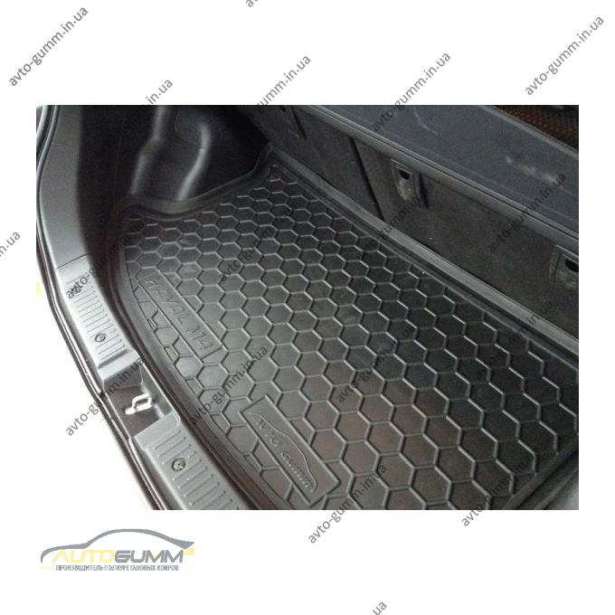 Автомобильный коврик в багажник Great Wall Haval M4 2012- (Avto-Gumm)