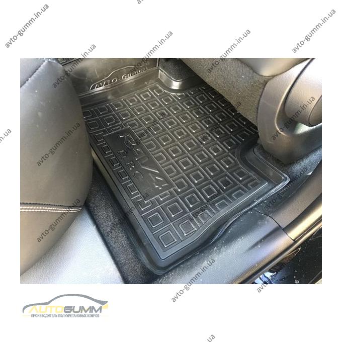 Автомобильные коврики в салон Toyota RAV4 2019- ДВС АКПП (Avto-Gumm)
