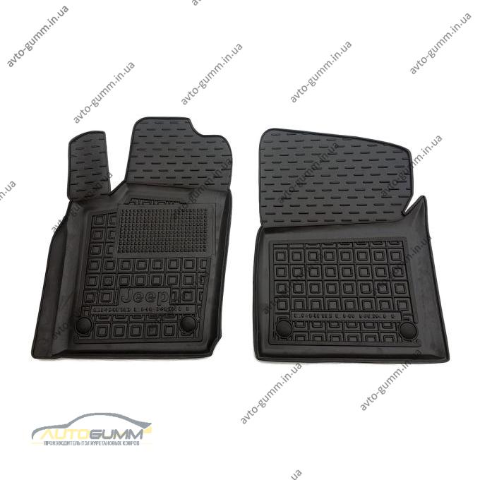 Передние коврики в автомобиль Jeep Grand Cherokee (WK2) 2010- (Avto-Gumm)