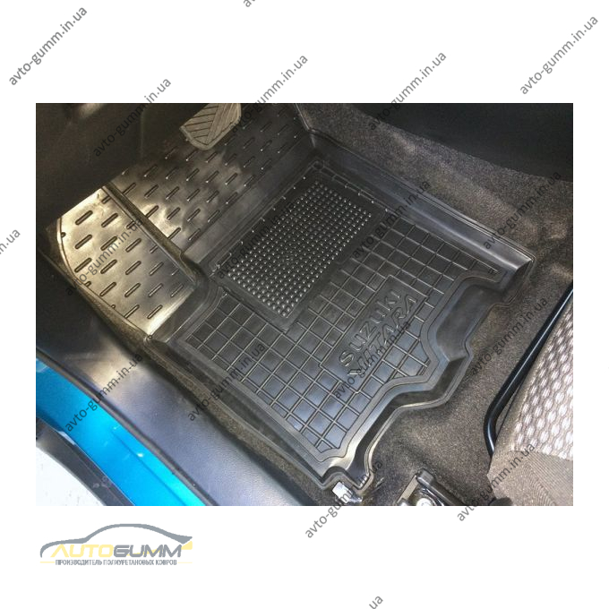 Передние коврики в автомобиль Suzuki Vitara 2014- (Avto-Gumm)