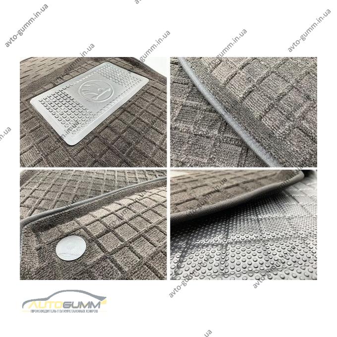 Гибридные коврики в салон Audi A4 (B8) 2008- (AVTO-Gumm)