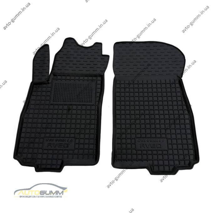 Передние коврики в автомобиль Chevrolet Aveo 2012- (Avto-Gumm)