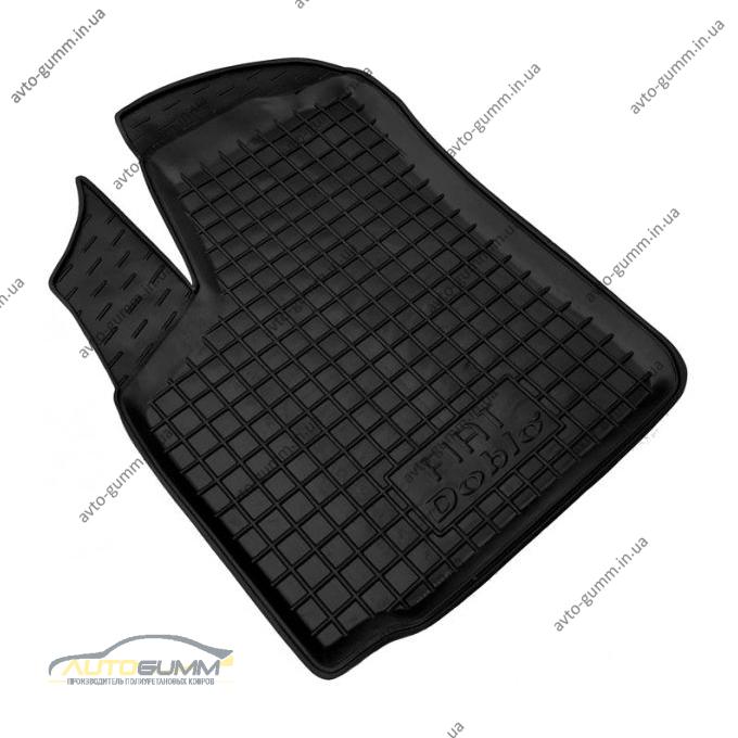 Водительский коврик в салон Fiat Doblo 2000- (Avto-Gumm)