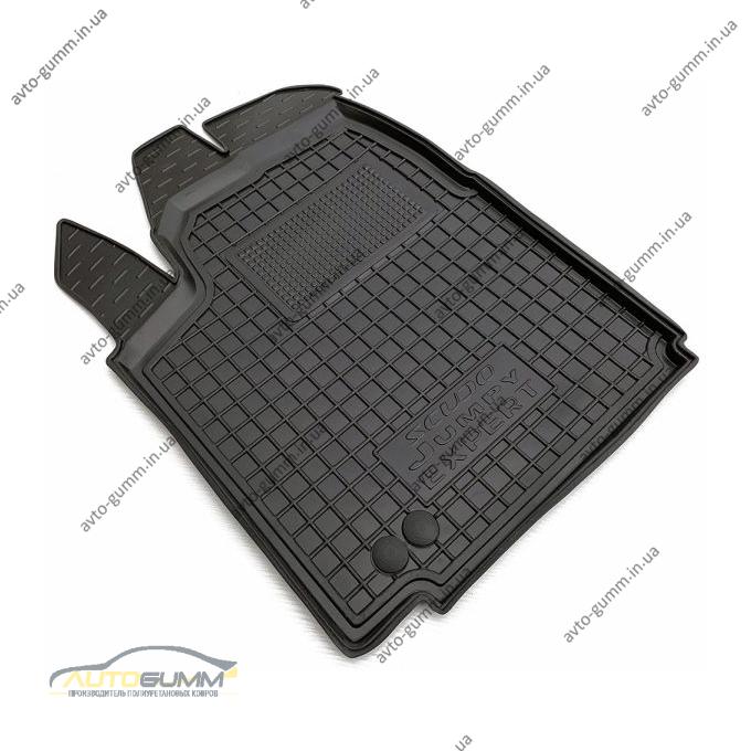 Водительский коврик в салон Citroen Jumpy 07-/Fiat Scudo 07-/Peugeot Expert 07- (V-1,6/2,0) (Avto-Gumm)