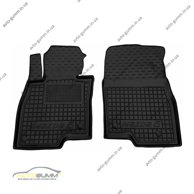 Передние коврики в автомобиль Mazda 6 2013- (Avto-Gumm)