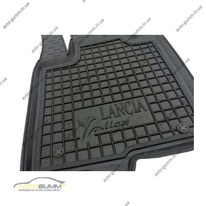 Автомобільні килимки в салон Lancia Ypsilon 2011- (Avto-Gumm)