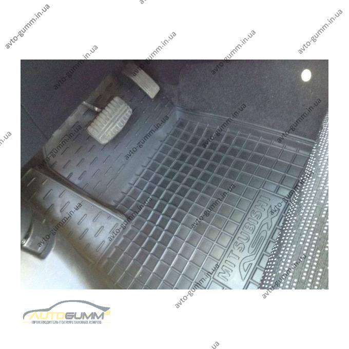 Автомобильные коврики в салон Mitsubishi ASX 2011- (Avto-Gumm)