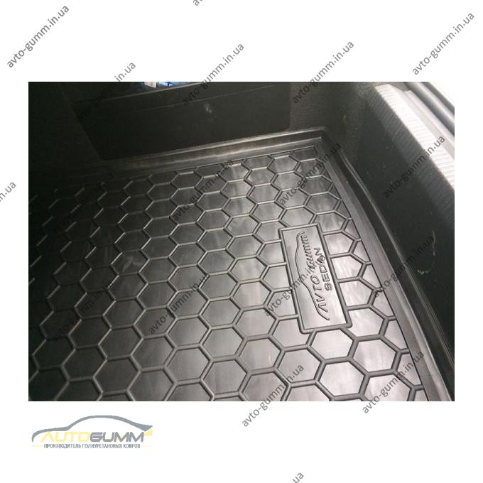 Автомобильный коврик в багажник Volkswagen Passat B6/B7 05-/11- (Sedan) (Avto-Gumm)