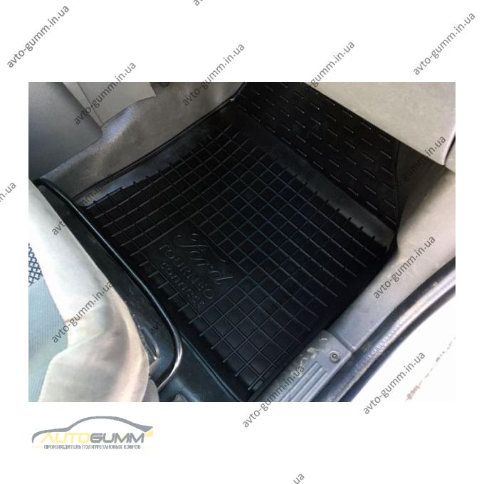 Передние коврики в автомобиль Ford Connect 2002- (Avto-Gumm)