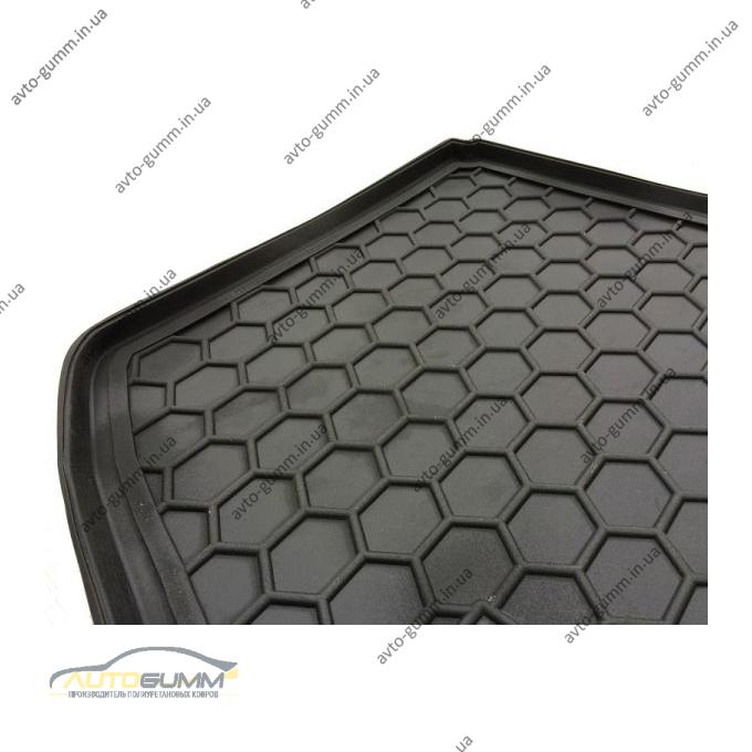 Автомобильный коврик в багажник Kia Soul 2014- (нижний) (Avto-Gumm)