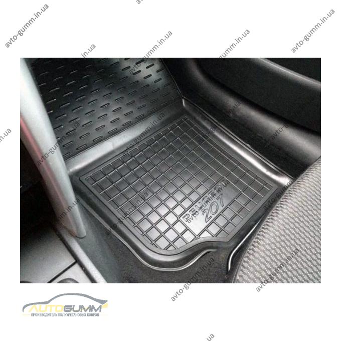 Передние коврики в автомобиль Peugeot 207 2006- (Avto-Gumm)