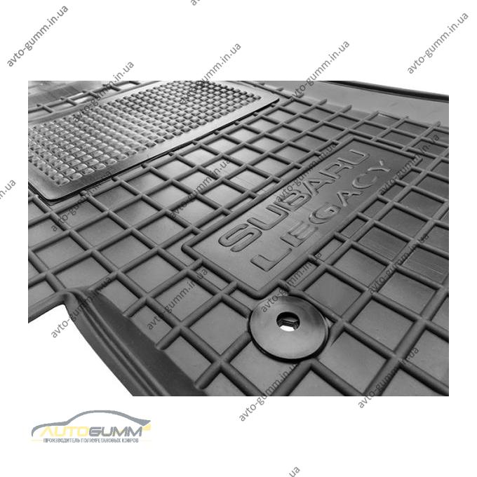 Водительский коврик в салон Subaru Outback/Legacy 2003- (Avto-Gumm)
