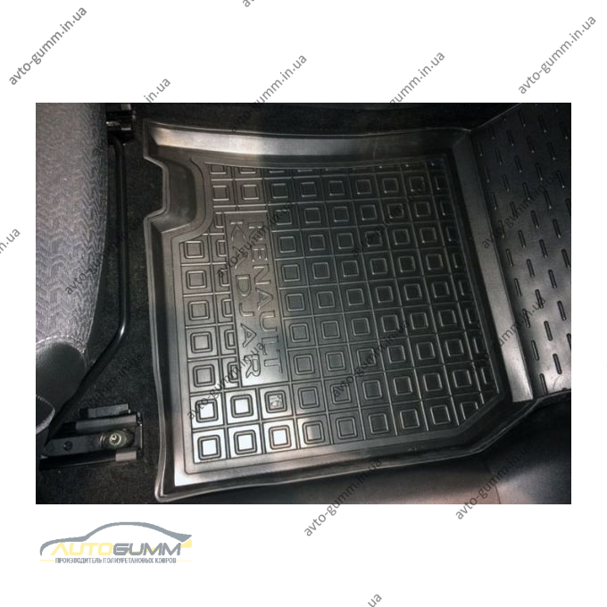 Передние коврики в автомобиль Renault Kadjar 2016- (Avto-Gumm)