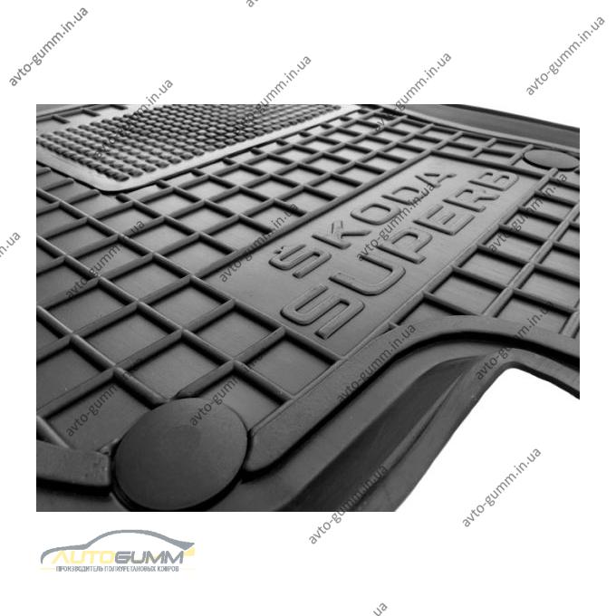 Передние коврики в автомобиль Skoda SuperB 2008-2014 (Avto-Gumm)