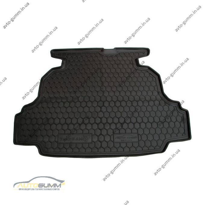 Автомобильный коврик в багажник Geely Emgrand (EC7) 2011- Sedan (Avto-Gumm)