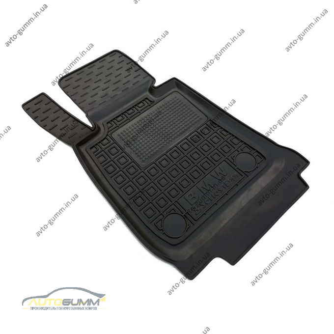 Водительский коврик в салон BMW 3 (E90/91) 2005- (Avto-Gumm)