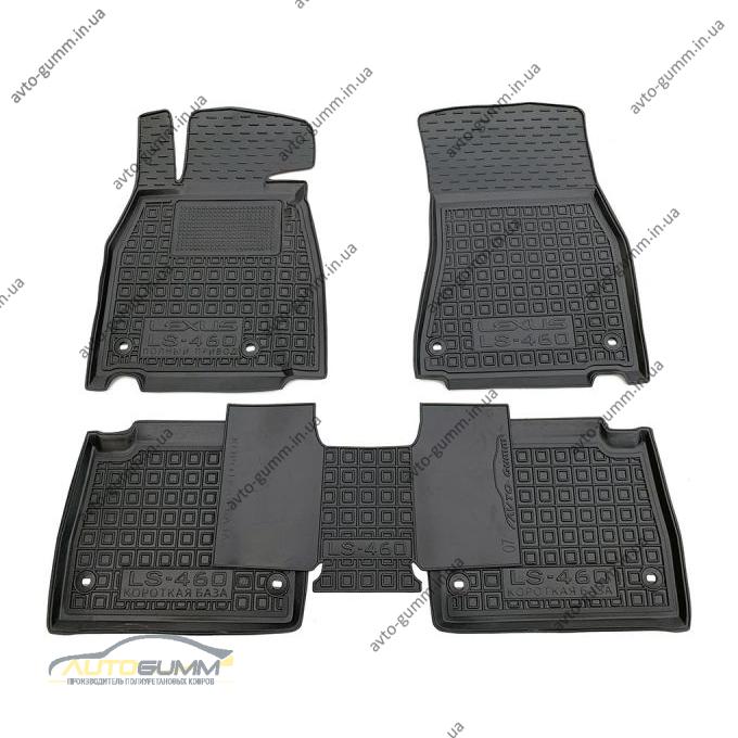 Автомобильные коврики в салон Lexus LS 460 2007- стандартная база 4х4 (Avto-Gumm)