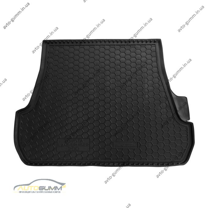 Автомобильный коврик в багажник Toyota Land Cruiser 200 2007- (5 мест) (Avto-Gumm)