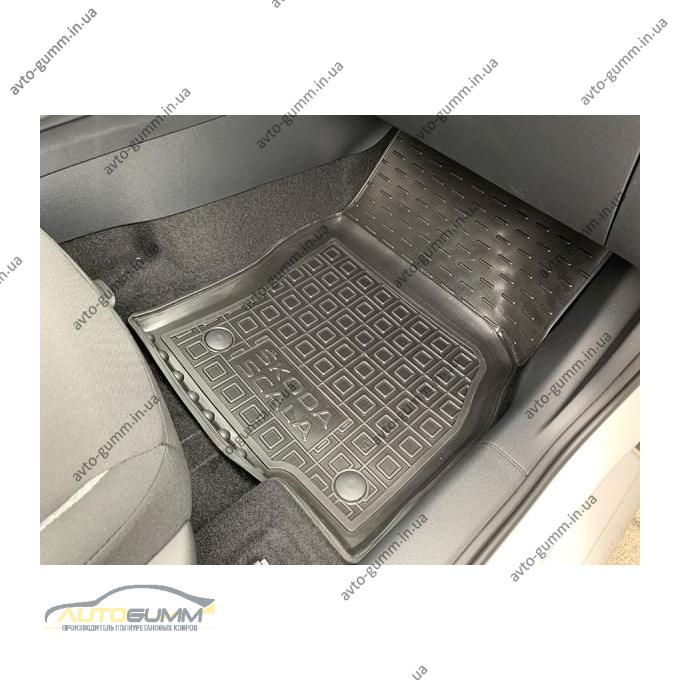 Автомобильные коврики в салон Skoda Scala 2020- (Avto-Gumm)