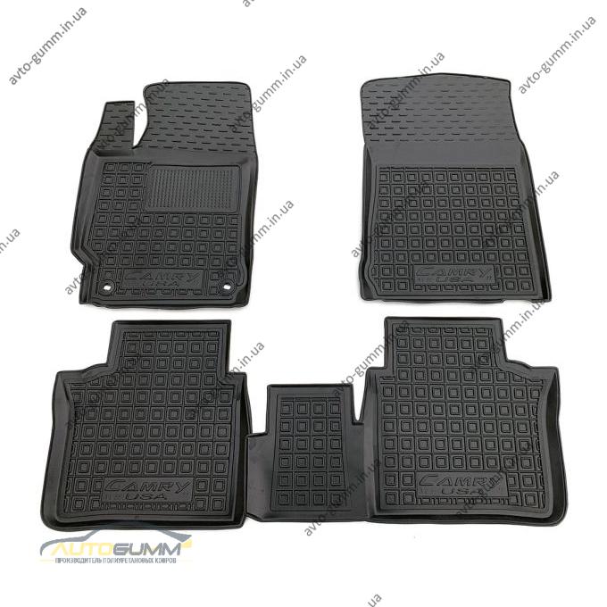 Автомобильные коврики в салон Toyota Camry VX55 2011-2014 USA (AVTO-Gumm)