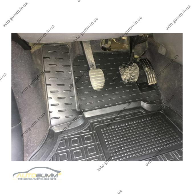 Водительский коврик в салон Renault Scenic 2 2002-2009 (Avto-Gumm)