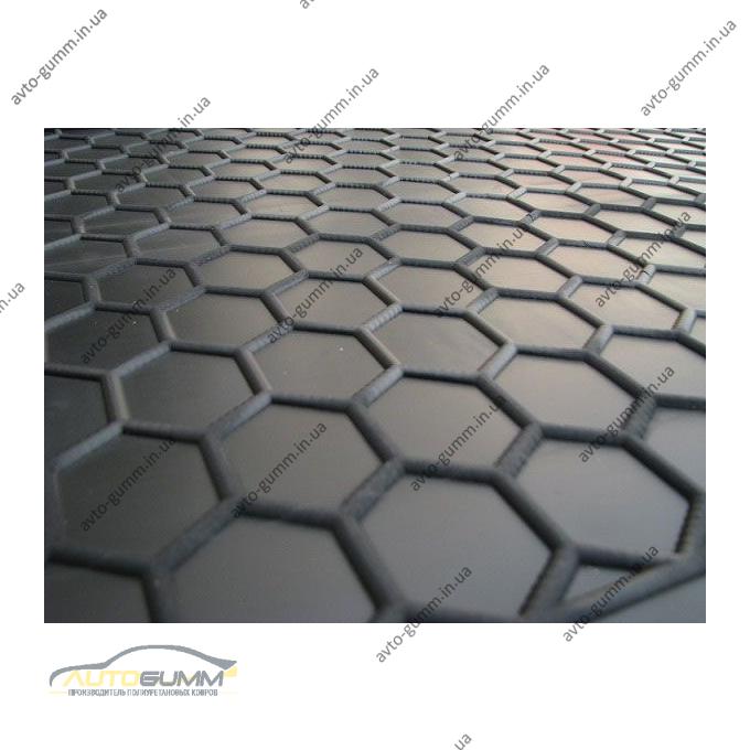 Автомобильный коврик в багажник Kia Picanto 2018- (верхняя полка) (Avto-Gumm)