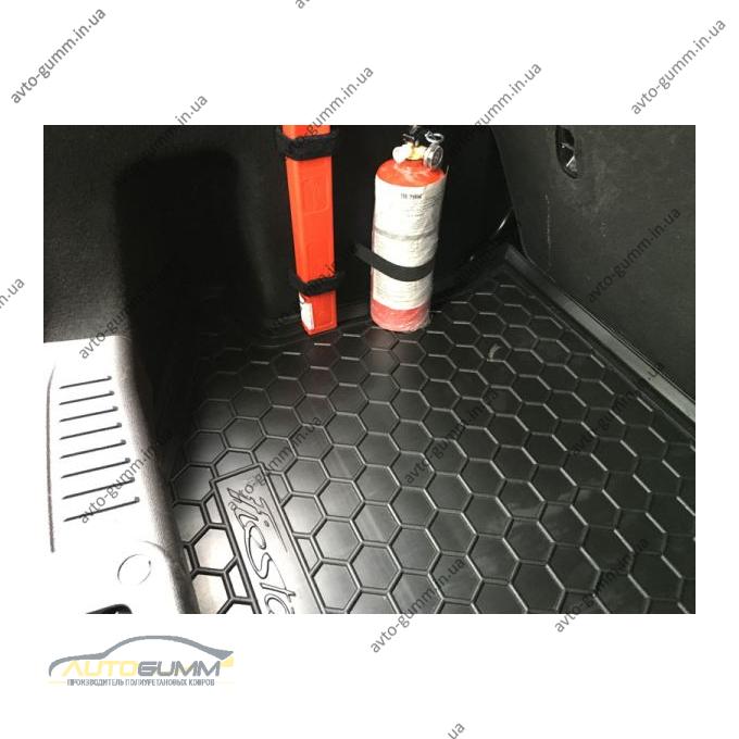 Автомобильный коврик в багажник Ford Fiesta 2008-2015 (Avto-Gumm)