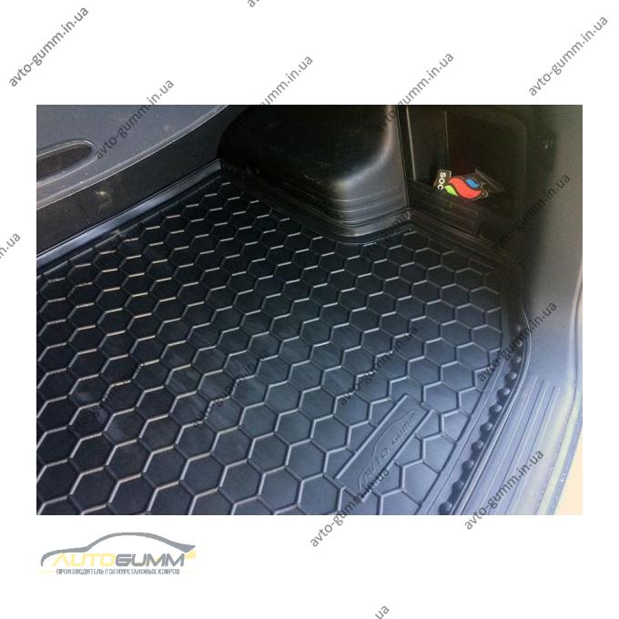 Автомобильный коврик в багажник Hyundai ix35 2010- (Avto-Gumm)