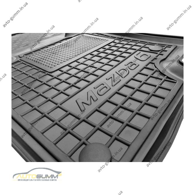 Водительский коврик в салон Mazda 6 2013- (Avto-Gumm)