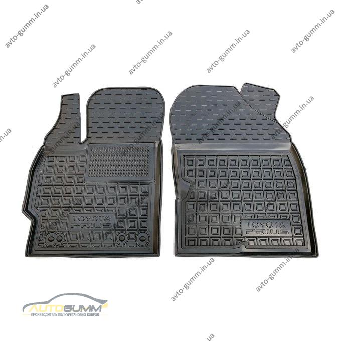 Передние коврики в автомобиль Toyota Prius 2010- (Avto-Gumm)