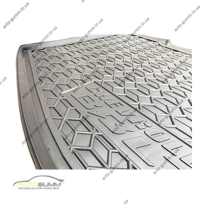 Автомобильный коврик в багажник Chevrolet Bolt EV 2016- нижняя полка (Avto-Gumm)