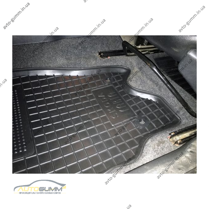 Водительский коврик в салон Skoda Fabia 2000- (Avto-Gumm)