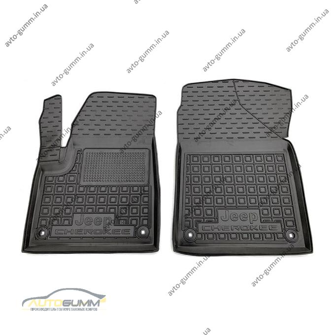 Передние коврики в автомобиль Jeep Cherokee 2014- (AVTO-Gumm)