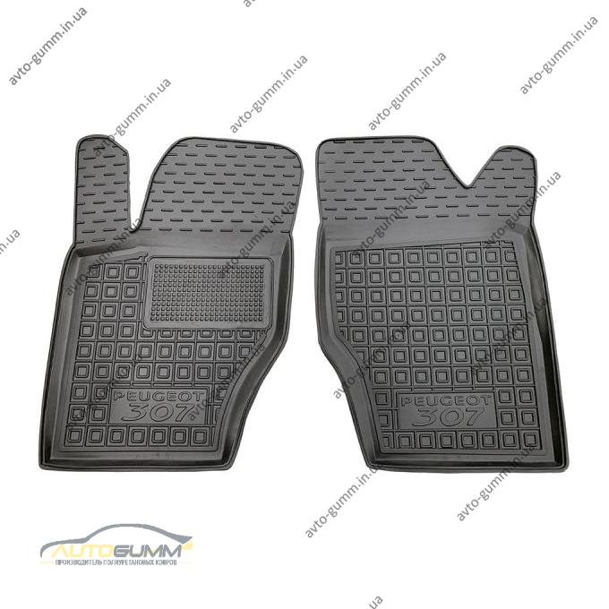 Передні килимки в автомобіль Peugeot 307 2001-2011 (Avto-Gumm)
