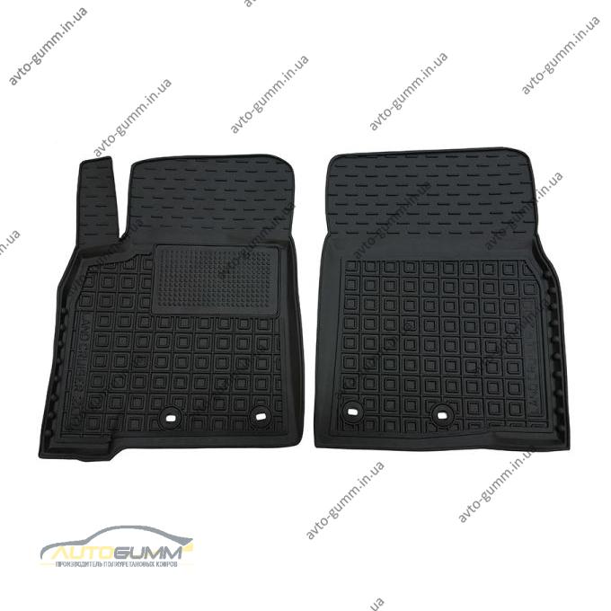 Передние коврики в автомобиль Toyota Land Cruiser 200 2012- (Avto-Gumm)
