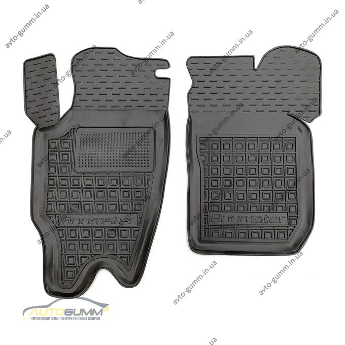 Передние коврики в автомобиль Skoda Roomster 2006- (AVTO-Gumm)