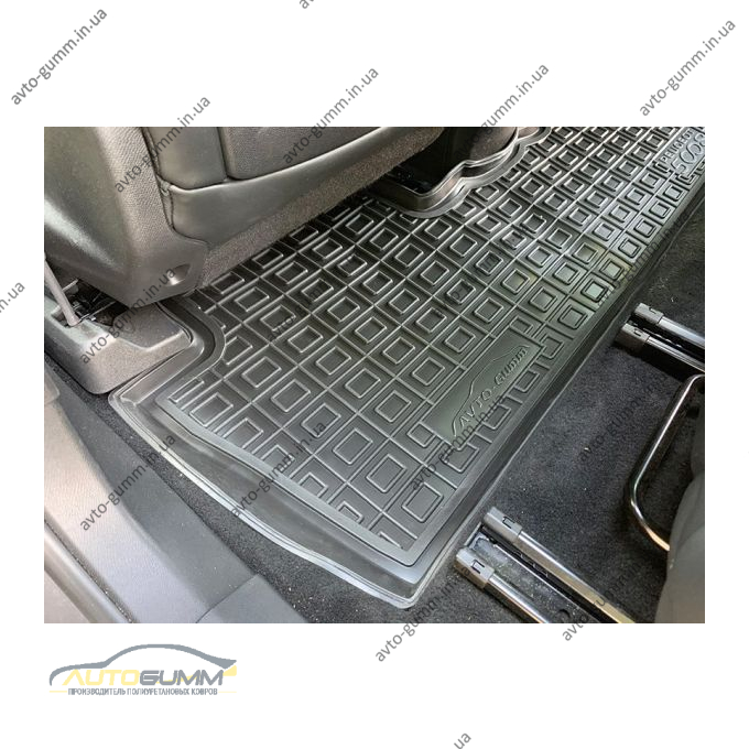 Автомобильные коврики в салон Peugeot 5008 2019- (Avto-Gumm)