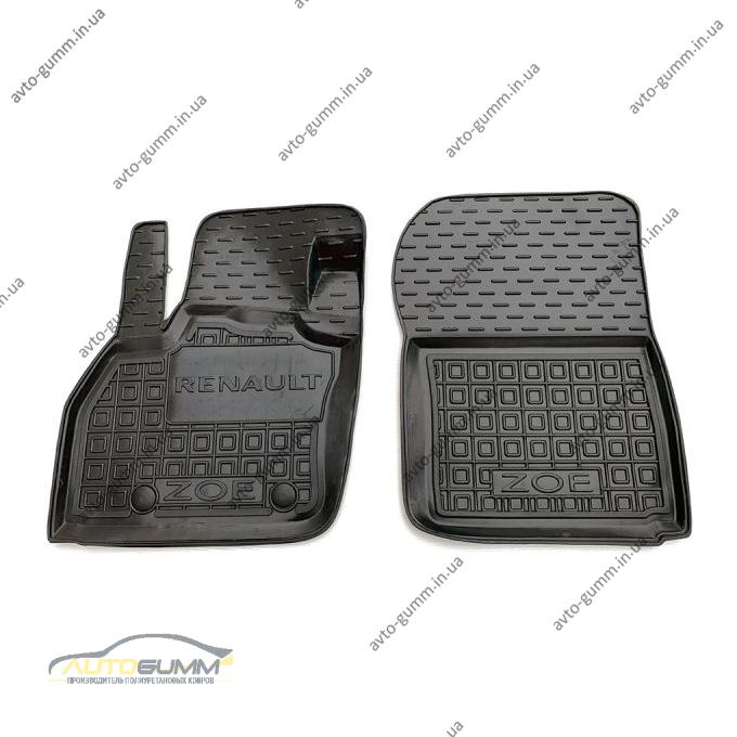 Передние коврики в автомобиль Renault Zoe 2013- (Avto-Gumm)