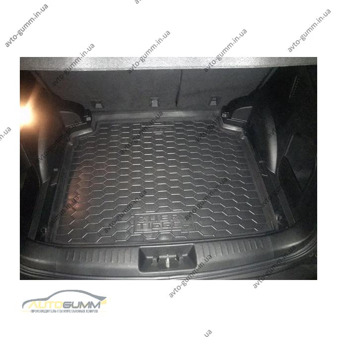 Автомобильный коврик в багажник Chery Tiggo 7 2017- (Avto-Gumm)