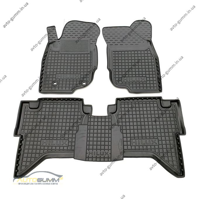 Автомобильные коврики в салон Toyota Hilux 2005- (Avto-Gumm)