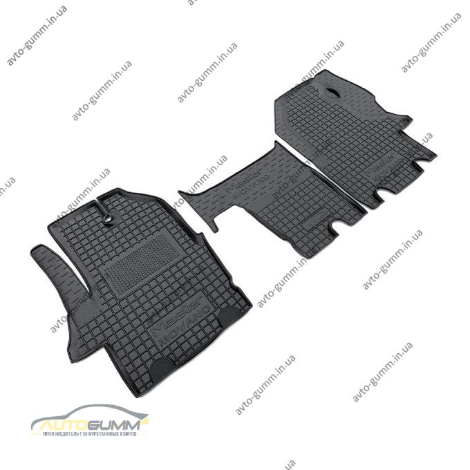 Автомобильные коврики в салон Renault Master 2 98-03/Opel Movano 98- (Avto-Gumm)