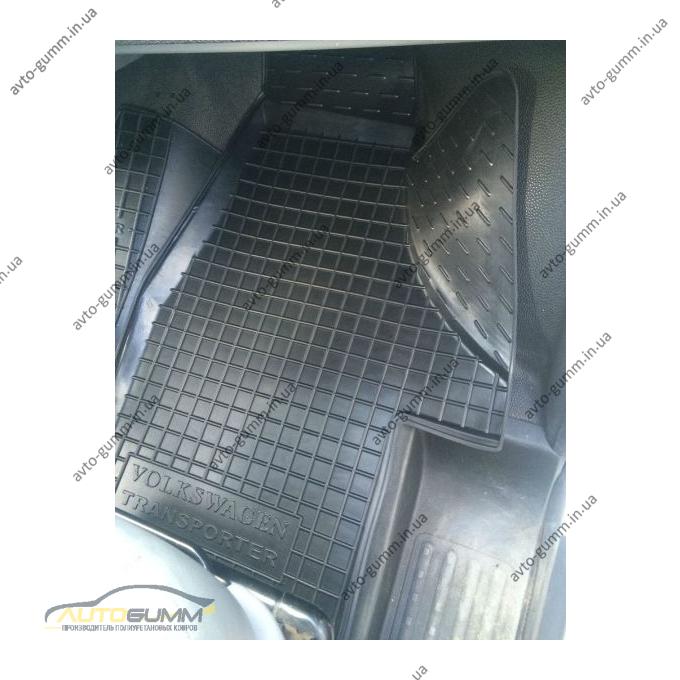 Автомобільні килимки в салон Volkswagen T5 Transporter 2003- (1+1) (Avto-Gumm)