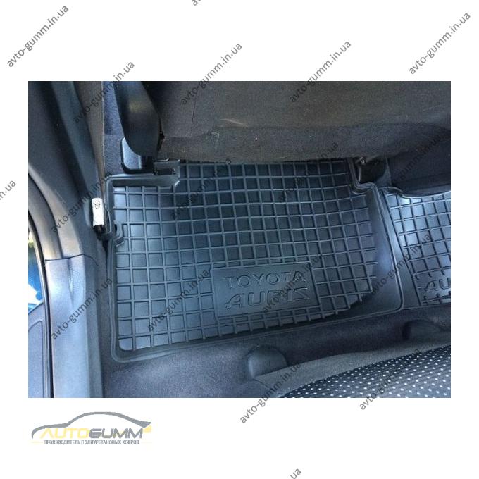 Автомобильные коврики в салон Toyota Auris 2007-2013 (Avto-Gumm)