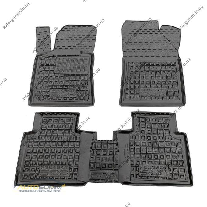 Автомобильные коврики в салон Peugeot 508 2020- (Avto-Gumm)