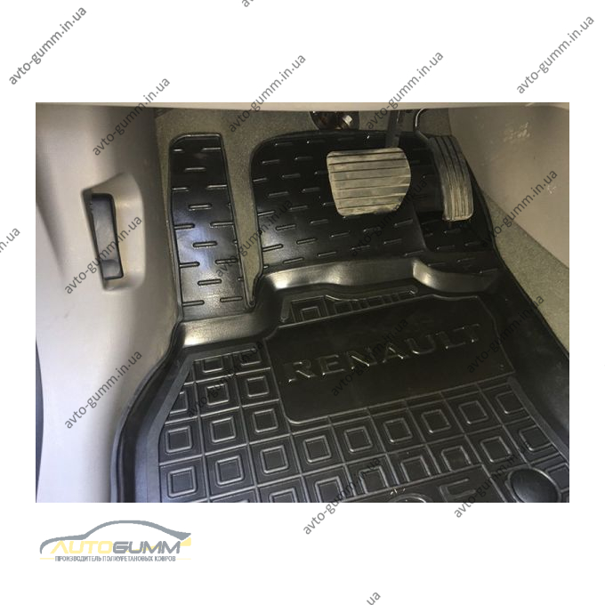 Водительский коврик в салон Renault Zoe 2013- (Avto-Gumm)