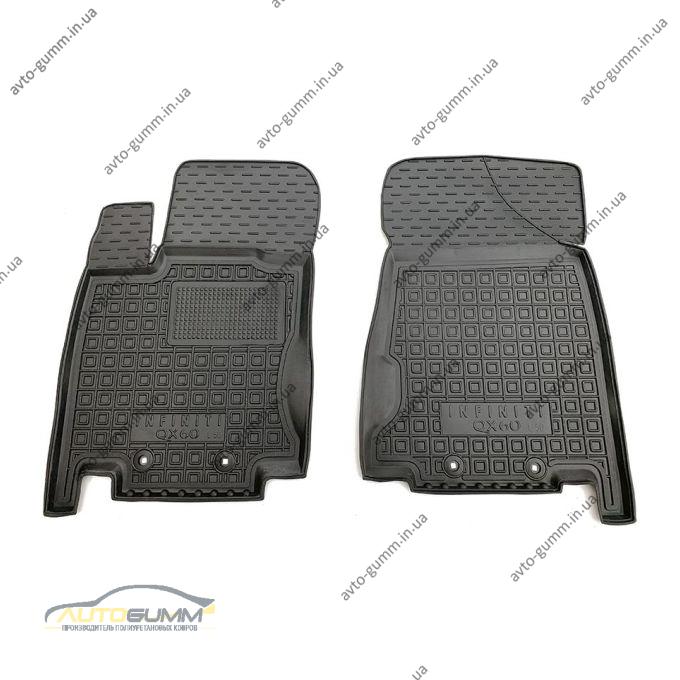 Передние коврики в автомобиль Infiniti JX/QX60 2012- (Avto-Gumm)
