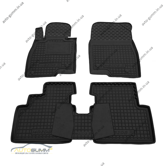 Автомобильные коврики в салон Mazda 3 2014- (Avto-Gumm)