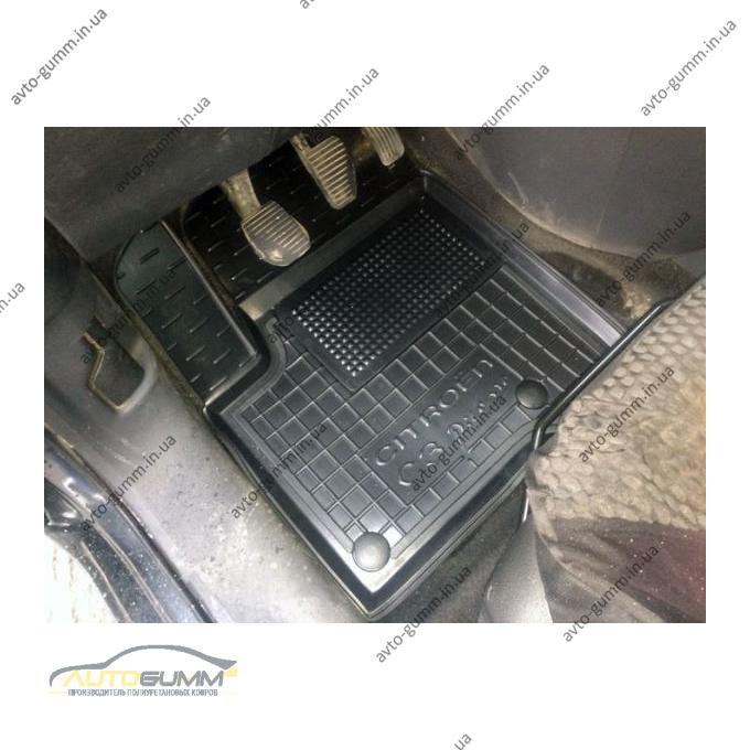 Водительский коврик в салон Citroen C3 Picasso 2009- (Avto-Gumm)