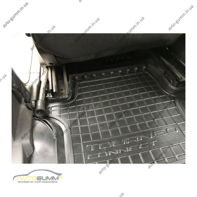 Автомобильные коврики в салон Ford Connect 2013- (длинная база) (Avto-Gumm)